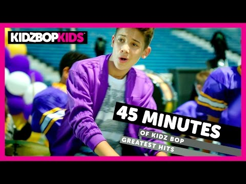 KIDZ BOP Kids - Happy, Uptown Funk, Gangnam Style, & other top KIDZ BOP songs [45 minutes]