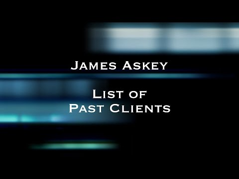 James Askey - List of Past Clients in 720p