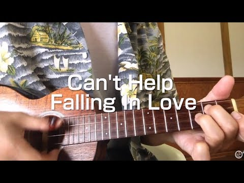 Can't Help Falling In Love / Ukulele TAB.ukulele Solo ウクレレ弾くよ♪