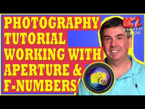 Photography Tutorial: Understanding and Using Aperture Priority and F Numbers