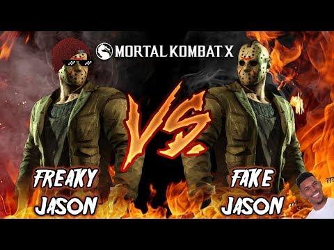 Freaky Jason Vs. Fake Jason - Mortal Kombat X