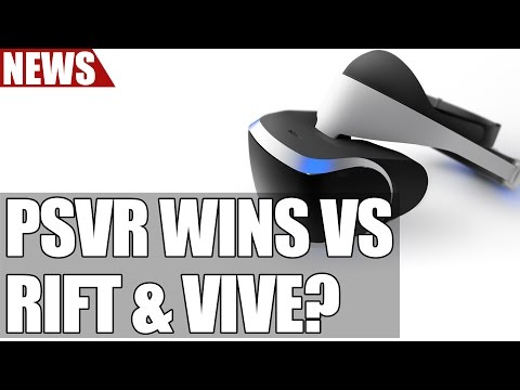 Playstation VR Set to Beat Sales of Vive & Rift in UK