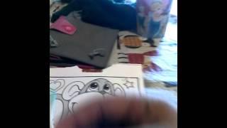 Monkey ear clean drawing