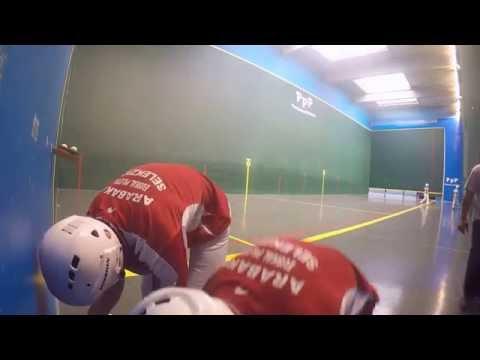Paleta Tour 2016: (Hourmat/Herriberry) contre (Tuesta/Tuesta)
