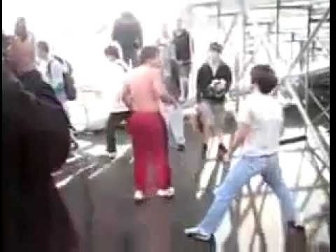 Real life bully beatdown- You messed with the wrong new kid