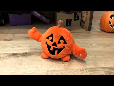 Singing Halloween Toy Pumpkin