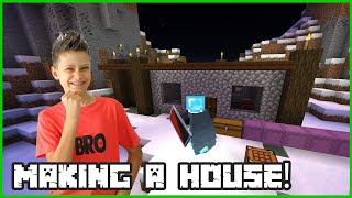 Making a House in Minecraft
