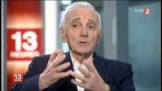 Charles Aznavour - Les cinq dernières minutes - mars 2013