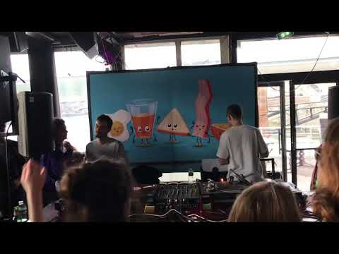 KRN @ Breakfast Club / Café Barge