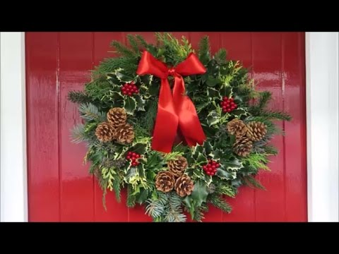 Christmas Ring.Castle Hill Garden Christmas Door Ring And Remembrance Wreath