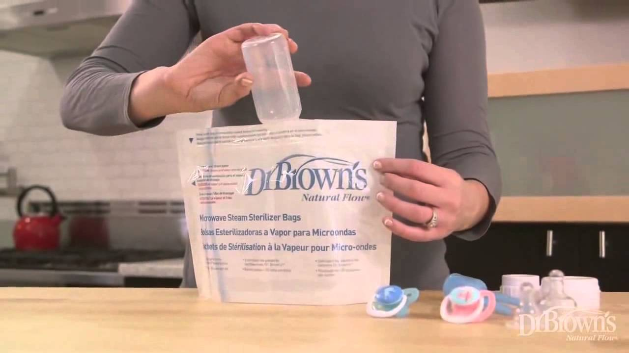 dr brown s microwave sterilizer and microwave sterilizer bags