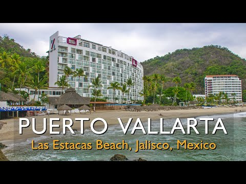 Where is Las Estacas Beach? The Hyatt Ziva beach in Puerto Vallarta