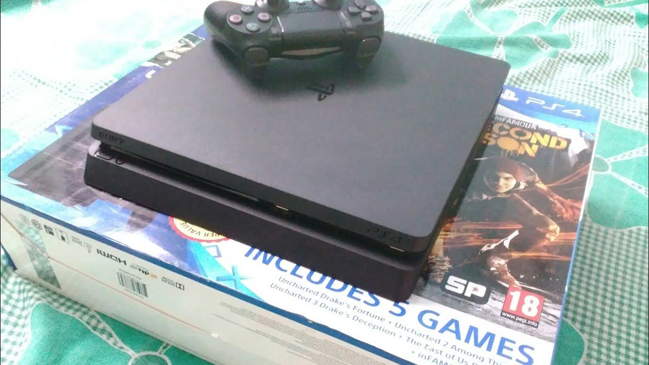 ps4 slim 500gb gta v console bundle