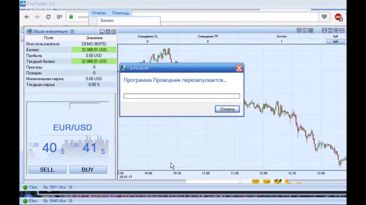 форекс онлайн торги евро