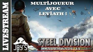 Steel Division - Livestream Coop avec Leviath40