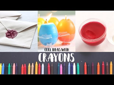 6 Bright Crayon Ideas | DIY Projects | Useful Things