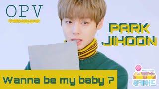 [OPV] WANNA BE MY BABY — Wanna One  #ParkJiHoon