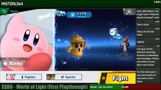 Super Smash Bros. Ultimate - World of Light (Blind)