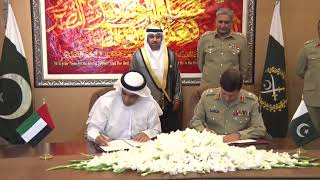 UAE Ambassador to Pakistan called on COAS today at GHQ - 1