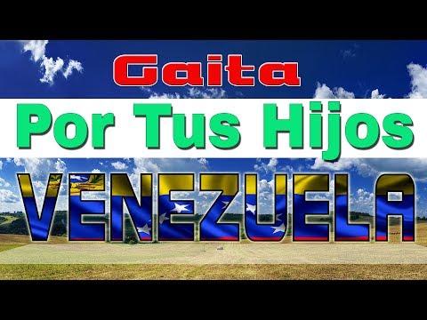 """Gaita Por Tus Hijos Venezuela  """"Video Lyric"""" H-Estudio"""