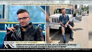Răzvan Ciobanu, reacție nervoasă după ce s-a întâlnit cu fostul iubit la cinema