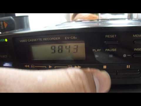 Testing Video Cassette Recorder EV-C8U