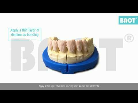 Operation Video of BAOT Zirconia Ceramics