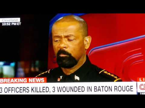 CNN will cut the truth off in split second....they weren't ready for sherrif David Clarke