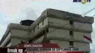 Detik Detik Gempa Sumatera (30 September 2009)