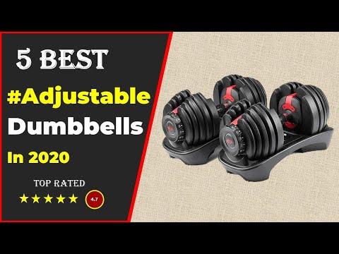 Top 5 Best Adjustable Dumbbell in 2020