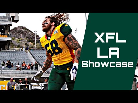 Xfl La Tryout Roster Youtube