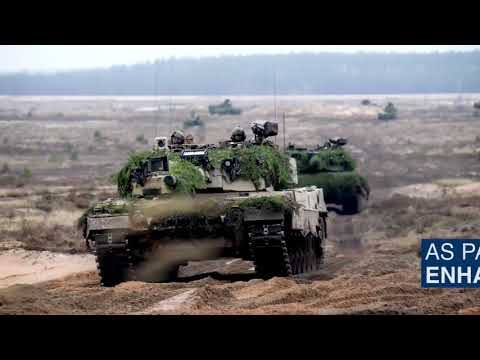 NATO Norway's first female tank commander in Lithuania