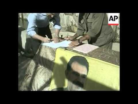 Kurdish rebels hand over Iranian prisoner taken two months ago