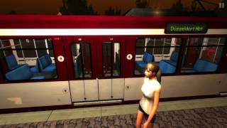 Thats my love game Stadtbahn Simulator Düsseldorf mit Freund (HD)