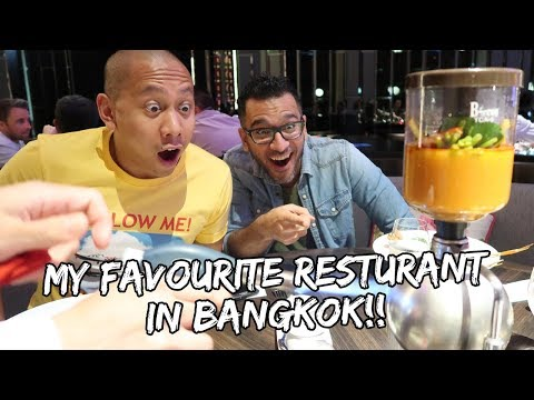 MY FAVOURITE RESTAURANT IN BANGKOK (Ft. Peyman Al Awadhi) | Vlog #215