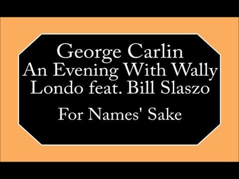 George Carlin - For Names' Sake