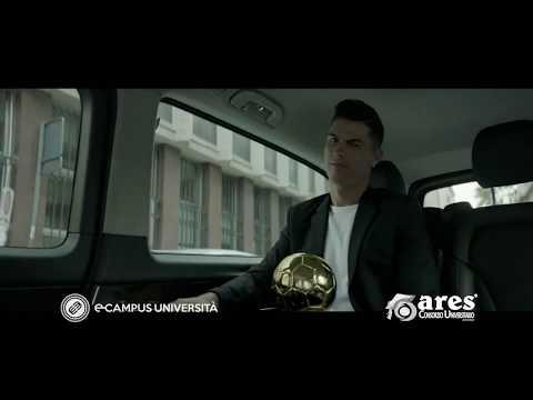 Cristiano Ronaldo (CR7) Testimonial di Ecampus e Ares Consorzio Universitario