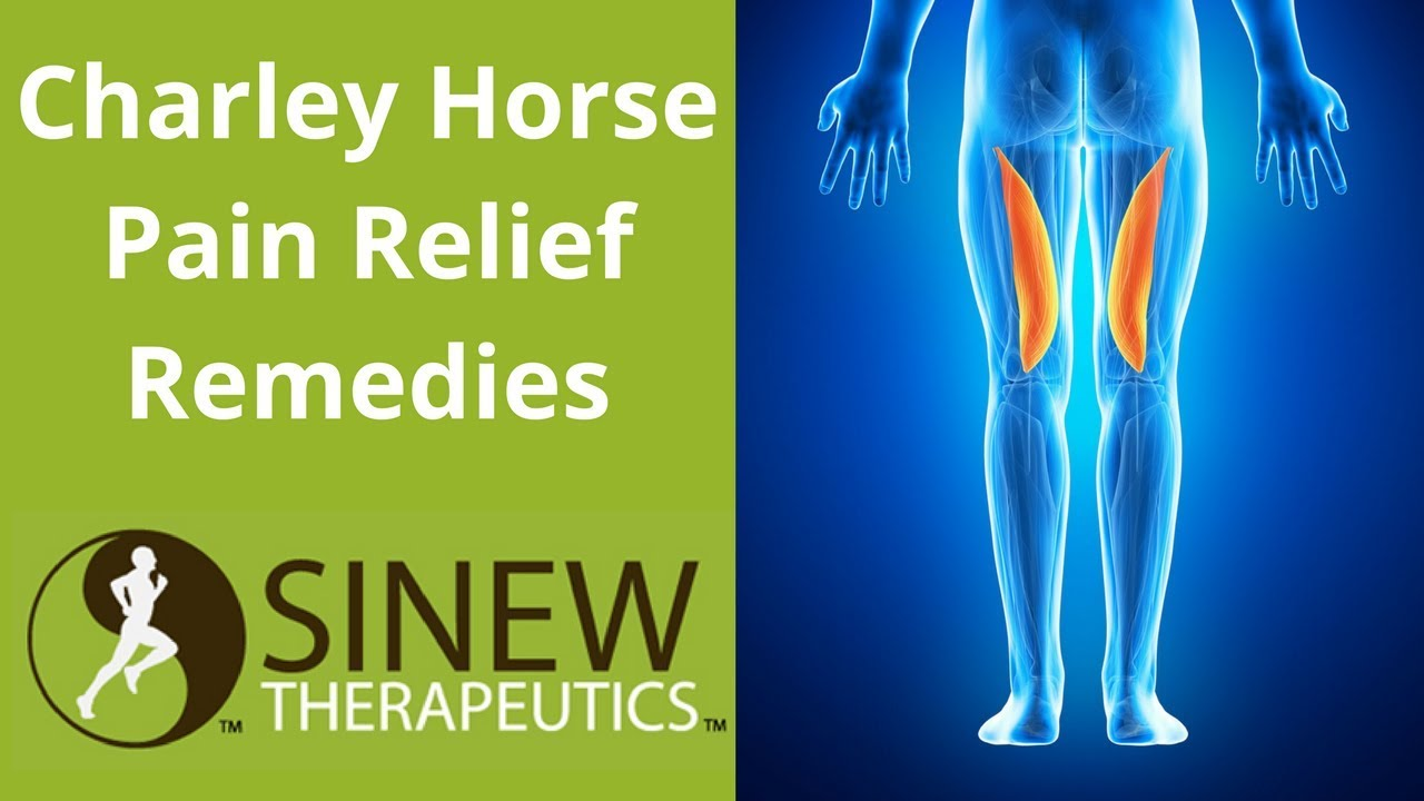 how to relieve charley horse pain in calf