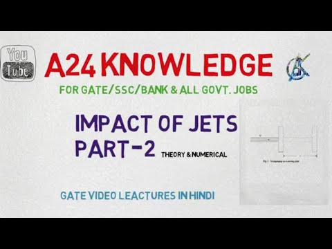 Impact Of Jets(Part-2)    Theory & Numericals    Gate Leactures In Hindi    Previous Year Solved Que