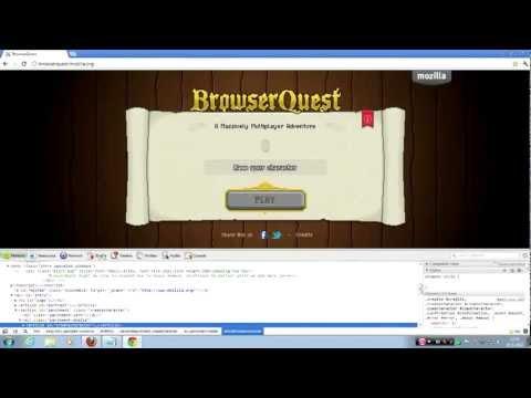 BrowserQuest - Hacks! (movespeed, Attackspeed, Boss Look)