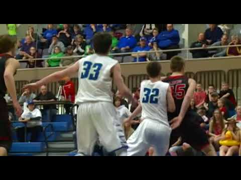 3/10/18 -  Boys Basketball - Lyle-Pacelli 60, Spring Grove 68