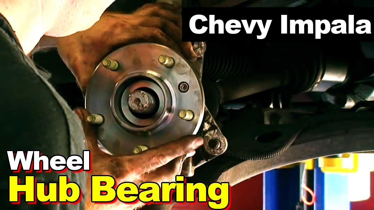 2002 Chevrolet Impala Or Monte Carlo Wheel Hub Bearing Axle Nut 1965 Chevy Wiring Diagram Free Download How To Remove And Install Youtube