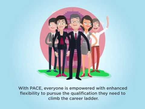 Discover our online/part time programmes with PACE.