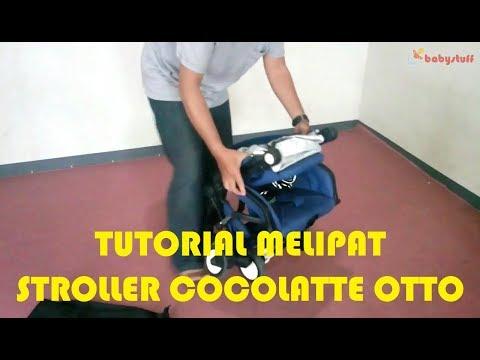 Tutorial Melipat Stroller Cocolatte OTTO