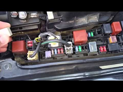 Hqdefault on toyota corolla blower motor resistor location