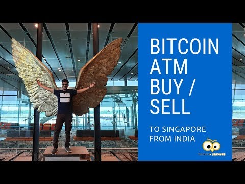 Buying Bitcoin From ATM !! #Singapore