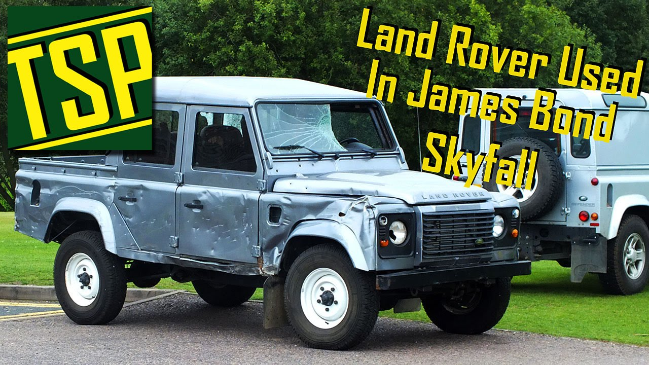Land Rover Used In James Bond Skyfall Walk Around Ride