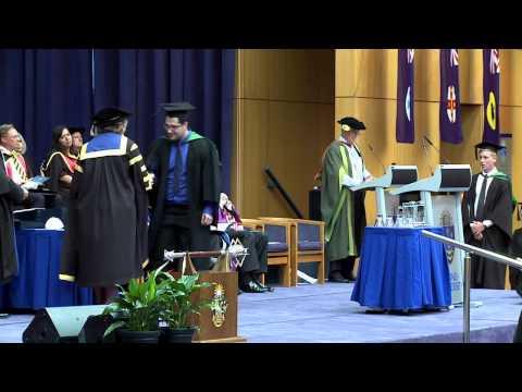 Bond University Graduation Ceremony February 2013 - Business, ISDA & HSM