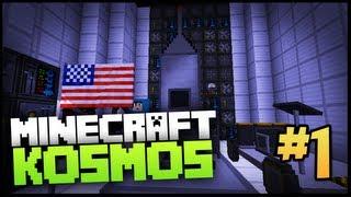 ► Minecraft Kosmos - ZACZYNAMY PODRÓŻ NA KSIĘŻYC - Odcinek 1