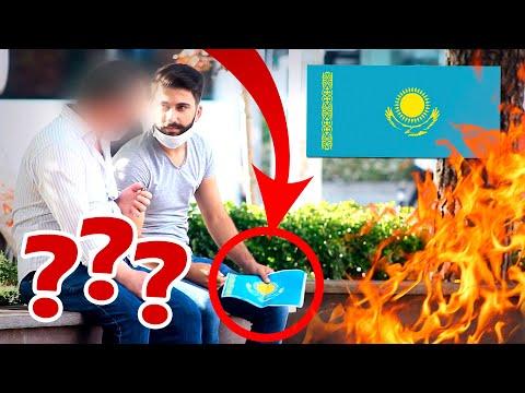 В Турции сжигают флаг Казахстана! РЕАКЦИЯ ЛЮДЕЙ!